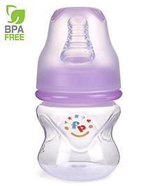 Fisher Price Ultra Care Regular Neck Polypropylene Feeding Bottle Purple - 60 Ml