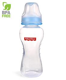 Fisher Price Ultra Care Regular Neck Polypropylene Feeding Bottle Blue - 230 Ml