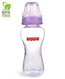 Fisher Price Ultra Care Regular Neck Polypropylene Feeding Bottle Purple - 230 Ml