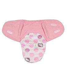 Ole Baby Swaddle Blanket Hello Kitty Print - Pink