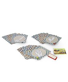 Toyenjoy Colour & Wipe Vegetable Flash Cards Multi Color - 24 Pieces