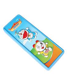 Doraemon 2D Pogo Pencil Box - Blue