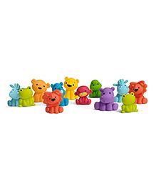 Infantino Tub O Bath Toys Multicolour - Pack Of 12