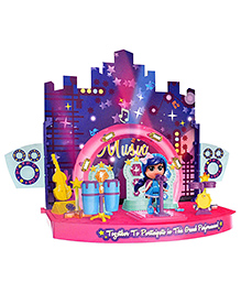 Toyshine DIY Star Dream Small Stage With Doll - Multicolour
