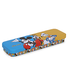 Disney Mickey & Friends Pencil Box With Tray - Blue