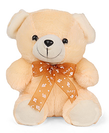 Play Toons Teddy Bear Soft Toy Ivory - 20 Cm