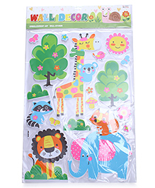 Jungle Theme Room Decor Sticker - Green