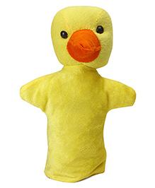IR Duck Hand Puppet Yellow - Height 24 Cm