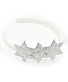 Magic Needles Hairband With 3 Stars - Silver