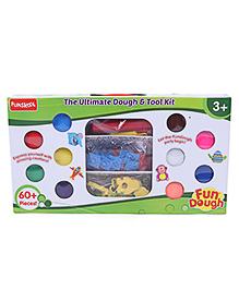 Fun Dough Ultimate Dough & Tool Kit - 60 Plus Pieces