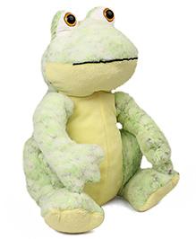 Starwalk Frog Little Plush Soft Toy Green - Height 29 Cm