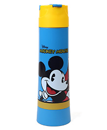 Disney Mickey Mouse & Friends Insulated Sipper Bottle Blue Yellow - 500 Ml
