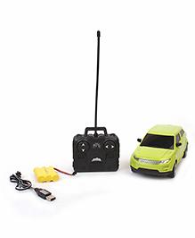 Mitashi Dash Die Cast Street Masters 5 DS Remote Control Model Car - Lime Green