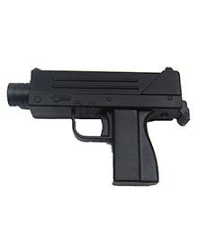 Emob DIe Cast Mini MIO Machine Pistol Air Gun Toy With Bullets - Black