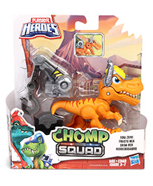 Hasbro Chomp Squad Tow Zone Action Figure With Removable Gear Yellow - Height 12 Cm