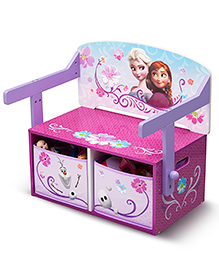 Disney Frozen Convertible Bench - Pink Purple