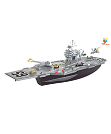 Toys Bhoomi Special Forces Aircraft Carrier Play Set - Grey