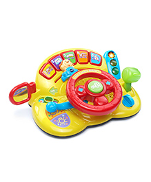 VTech Turn And Learn Driver Musical Toy - Multicolour