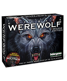 Bezier Games Ultimate Werewolf Deluxe Edition Card Game - Multicolour