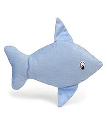 IR Hand Puppet Fish Light Blue - 25 Cm