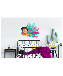 Asian Paints Dora Teddy Stories Wall Sticker - Multi Color
