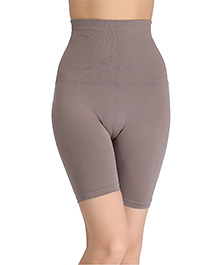 Clovia 4-In-1 Tummy Back Thigh & Hips Shaper - Grey