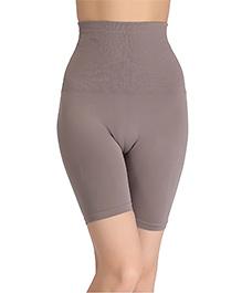 Clovia 4-In-1 Tummy Back Thigh & Hips Shaper - Grey