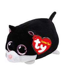Jungly World Kitty Soft Toy Black - Height 15 Cm