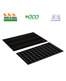 Eduedge Slate With Lines And Squares - Black