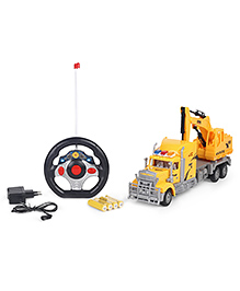 Smiles Creation RC Max Truck Toy With Light - Yellow
