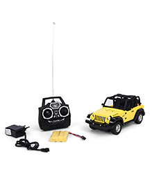 Smiles Creation Full Function RC Jeep - Yellow