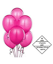 AMFIN Balloons Dark Pink - 50 Pieces