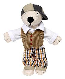 Goki Goki Dress Up Doll Bear With 7 Outfits - Multicolour
