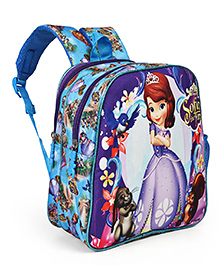 Disney Sofia The First School Bag Blue - Height 11 Inches