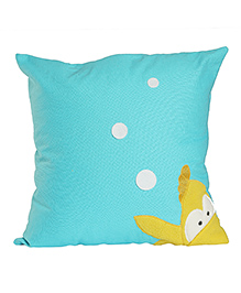 My Gift Booth Fish Patch Cushion Cover - Blue