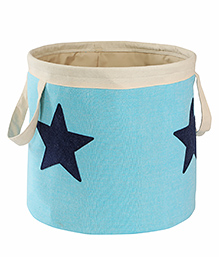 My Gift Booth Linen Storage Bag Star Print - Blue