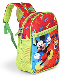Disney Mickey Mouse School Bag Orange - Height 11 Inches