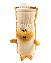 Ole Baby Feeding Bottle Cover Brown - 500 Ml