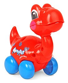 Dinosaur Shaped Wind Up Toy - Red