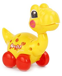 Dinosaur Shaped Wind Up Toy - Yellow