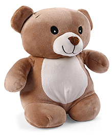 My Baby Excels Teddy Bear Plush Soft Toy Brown - Height 28 Cm