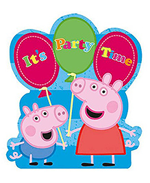Party Propz Peppa Pig Themed Cut Out Sticker - Multicolour