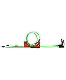 Planet Of Toys Pull Back Racing Track Set Multicolour - 22 Pieces