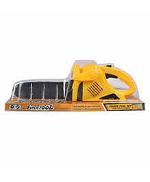 Planet Of Toys Electric Saw With Light And Sound - Yellow