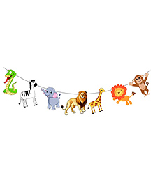 Party Propz Jungle Theme Decoration - Multicolour