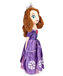 Sofia The First Plush Doll Purple - Height 60 Cm