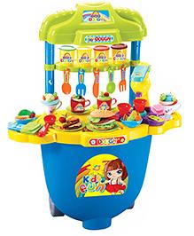 Toys Bhoomi Dough Kitchen Play Set - Multicolour