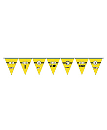 Party Propz Minion Theme Party Banner - Yellow - 2285566