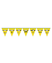 Party Propz Minion Theme Party Banner - Yellow - 2285568