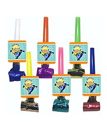 Party Propz Minion Theme Blowouts Multicolour - 12 Pieces